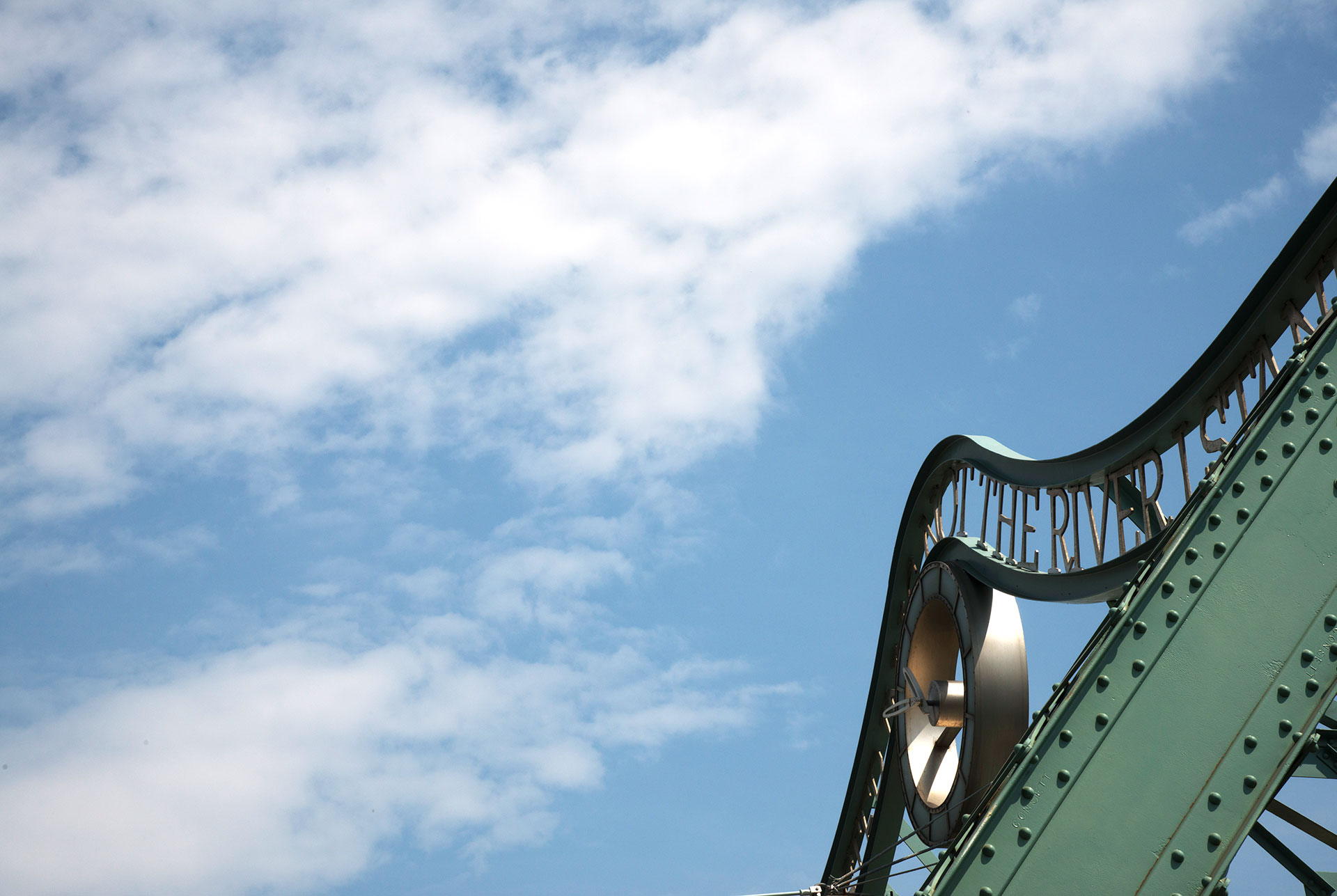 Home Slider – Blue Sky & Bridge (Ciao Riverside)
